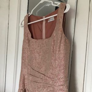 RED Valentino pale pink mini dress